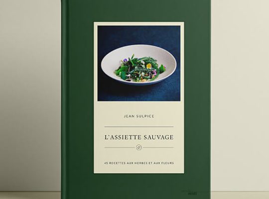 Book Assiette sauvage, recipes from Jean Sulpice
