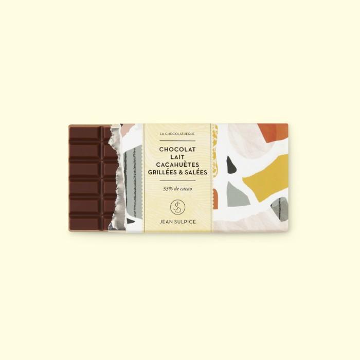 Tablette de chocolat au lait, Jean Sulpice