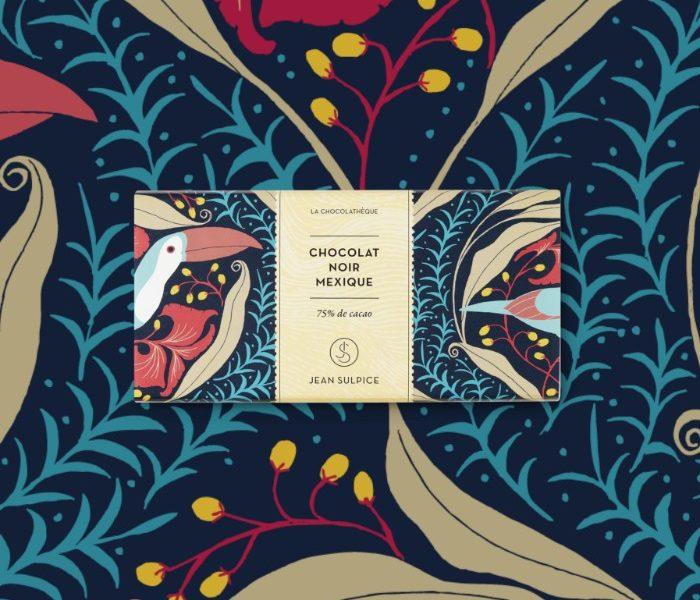 Dark chocolate mexico 75% cocoa, Jean Sulpice