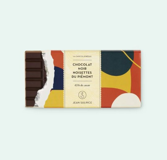 Dark chocolate and hazelnuts from Piedmont