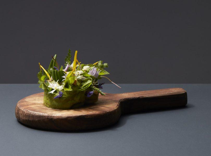 Mousse herbe et fleur du jardin, recette de Jean Sulpice