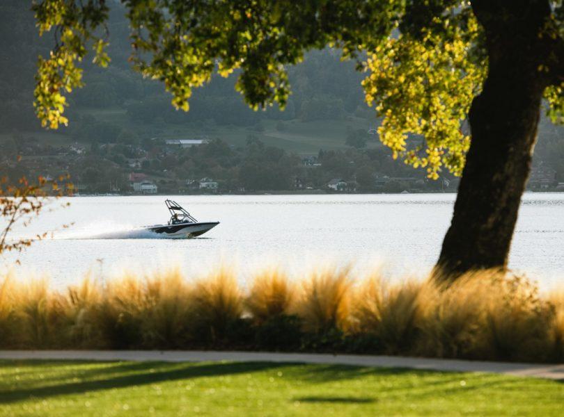 sport nautique sur le lac Annecy