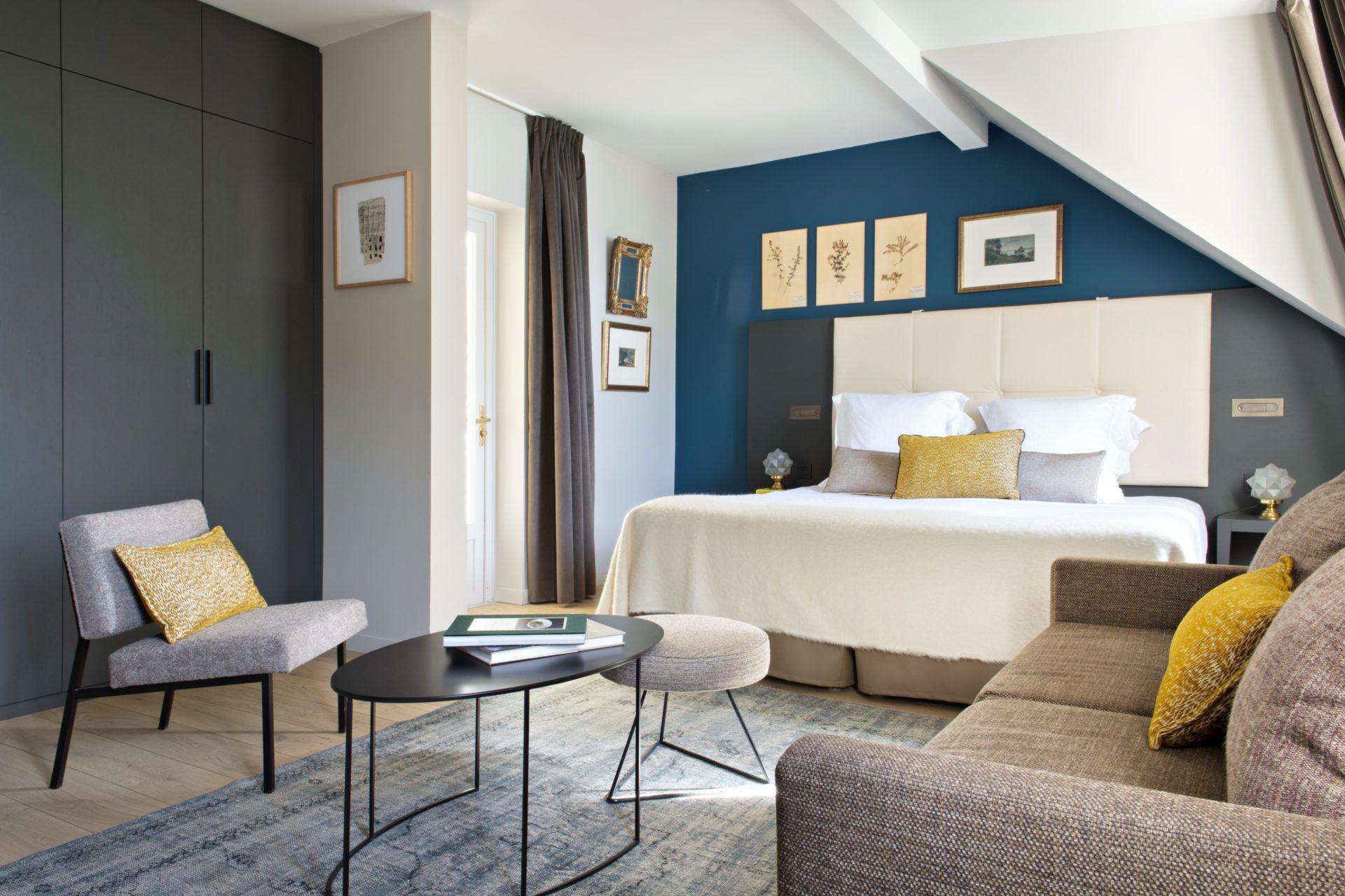 chambre charme de l'hôtel 5 étoiles