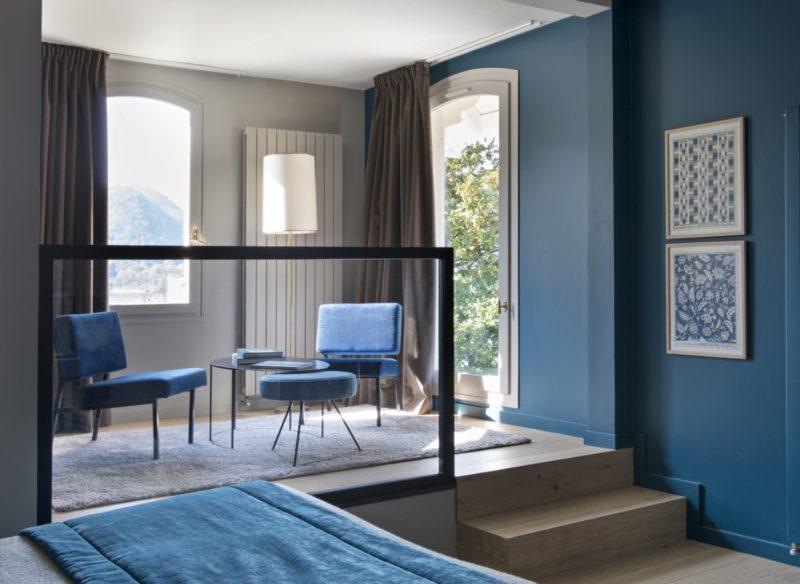 chambre d'hôtel avec vue lac Annecy