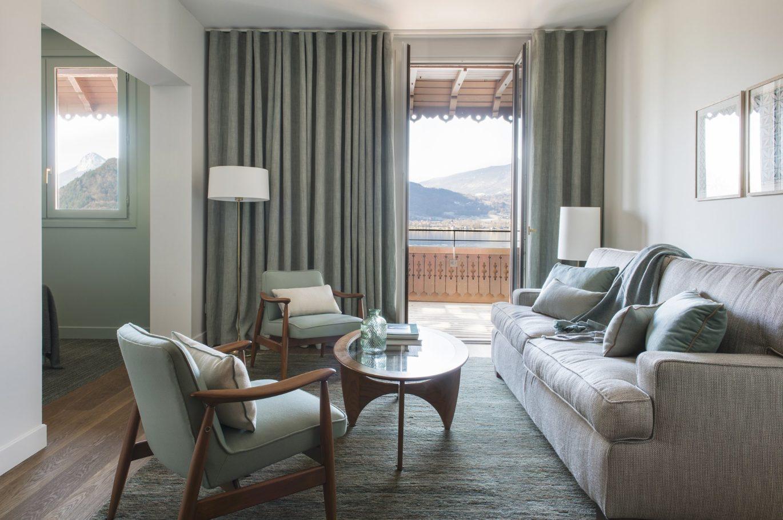 Chambre d'hôtel avec vue sur le Lac d'Annecy