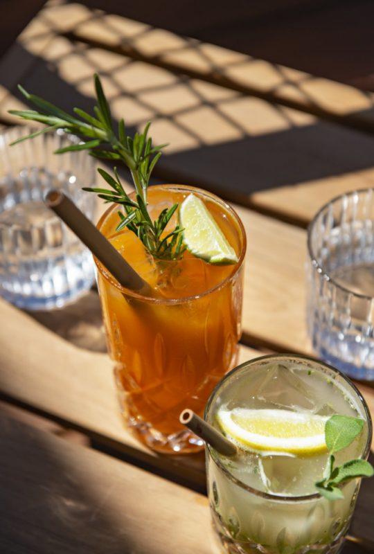Cocktail détox au spa de l'Auberge du Père Bise