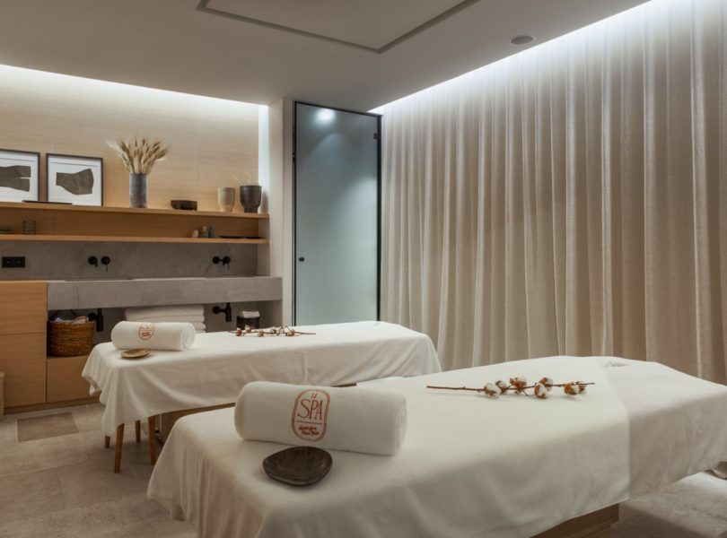 tables de massages au spa de l'Auberge