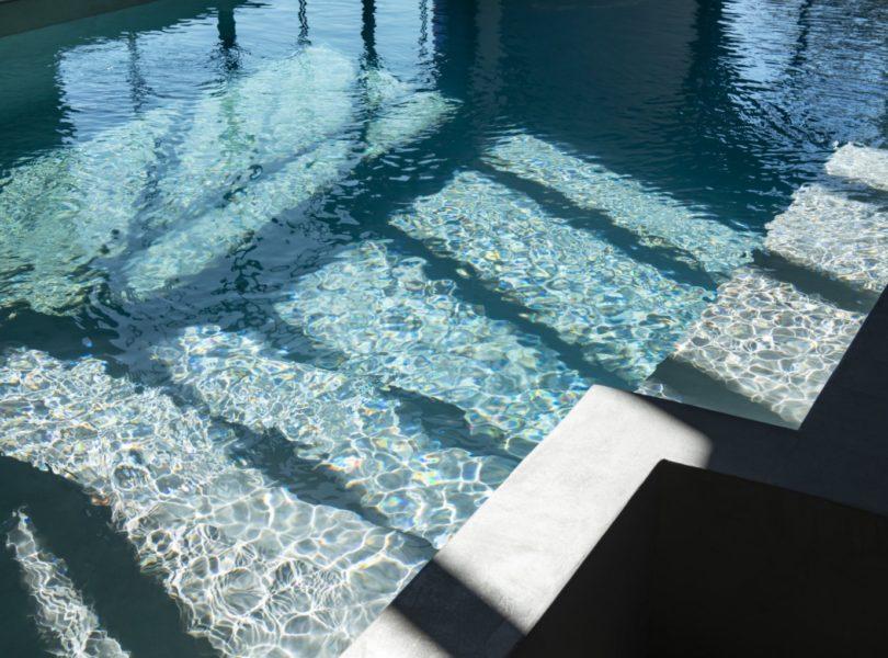 piscine du spa de l'hôtel 5 étoiles
