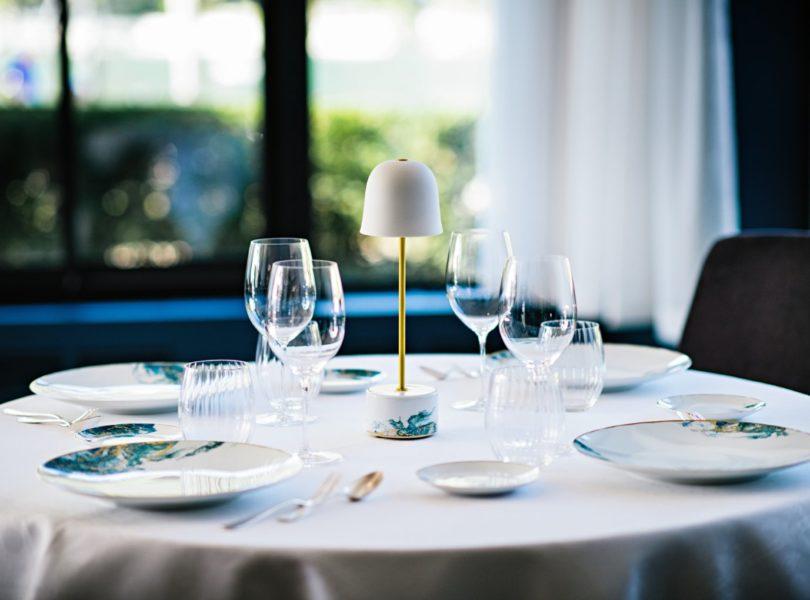 table du restaurant gastronomique, Annecy