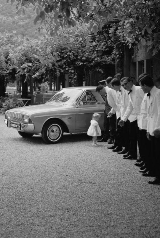 Sophie Bise, photo noir et blanc historique