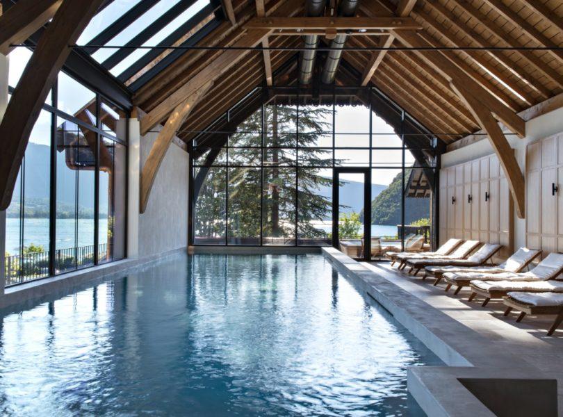 Spa au bord du lac d'Annecy