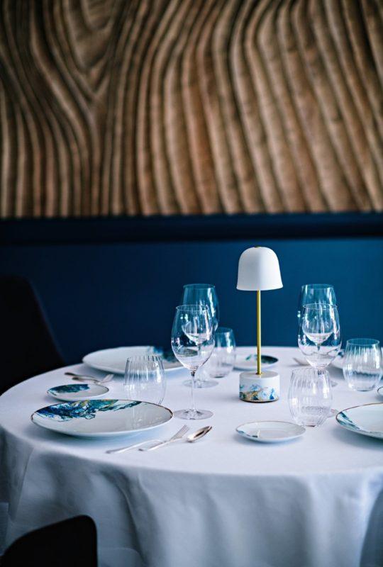 table du restaurant Jean Sulpice